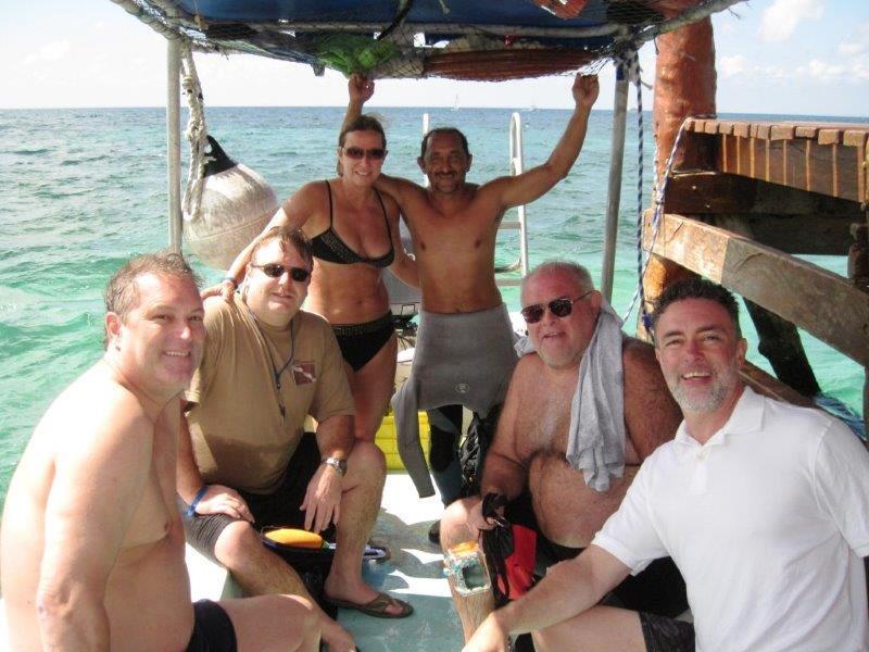 scuba diving group cozumel